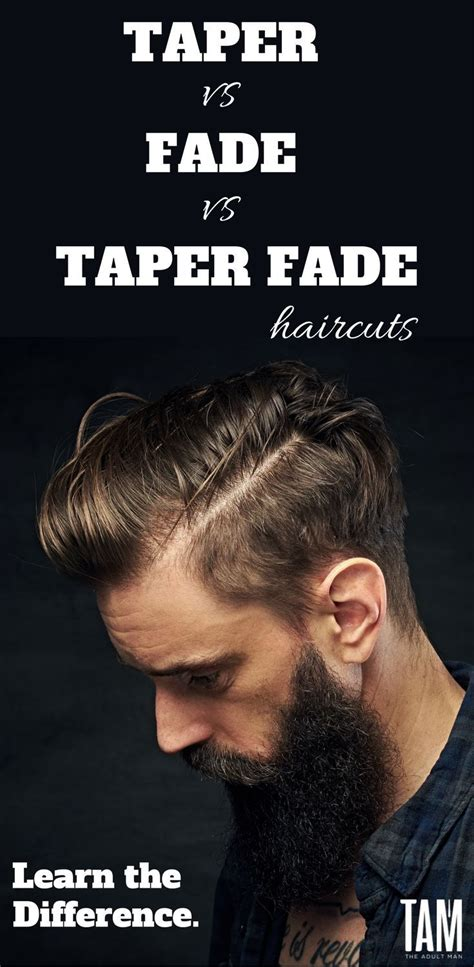 difference between tapered and straight haircut 25 best taper fade haircuts ideas on pinterest