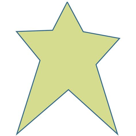 printable primitive star stencil star shape templates and patterns studio shop studio