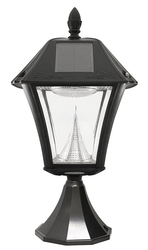 Outdoor Led Light Fixture Gama Sonic Baytown Ii Solar Outdoor Led Light Fixture Pole Post Oregonuforeview