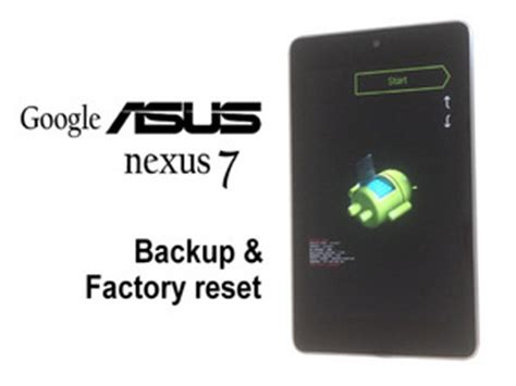 Nexus Asus Reset by Nexus 7 Repair Ifixit