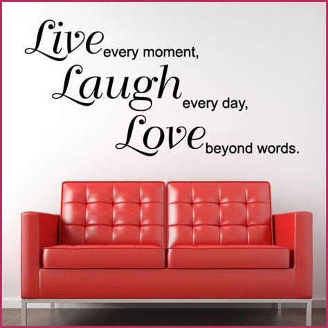 words wall stickers live laugh beyond words wall sticker decals