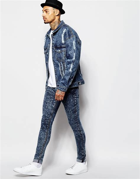 Jaket Wash Pull Quality high quality distressed denim jacket wholesales