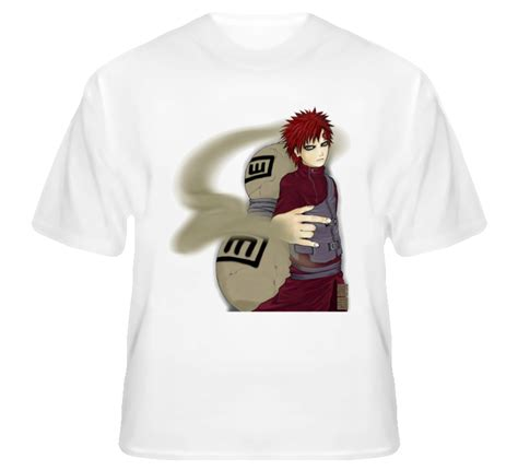 Tshirt Anime Gaara Of The Sand gaara of the sand waterfall from shippuden anime