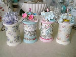 shabby chic sewing projects altered spools craft ideas bags the room