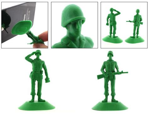 iSoldier Plastic Soldier Styled Smart Phone Stand   Gadgetsin