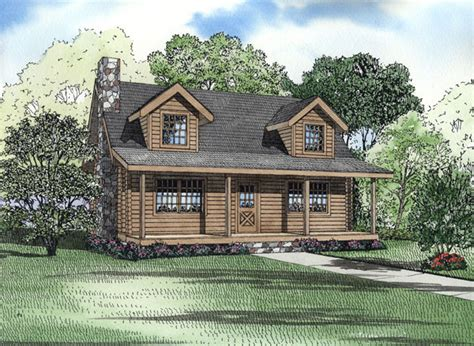 chp log log cabin house plan chp 21179 at coolhouseplans com