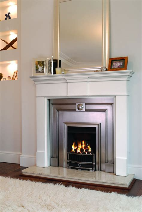 white minimalist electric fireplace inserts idea decosee