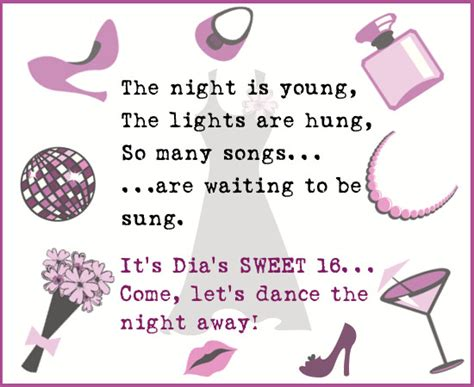 Sweet 16 Birthday Quotes For Sweet 16 Invitation Wordings That Are Awesome And Actually