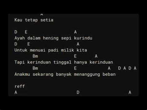 search results for chord titip rindu buat ayah ebiet g chord lirik ebiet g ade titip rindu buat ayah youtube