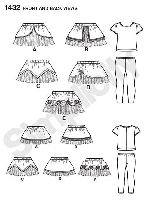 pattern review best patterns 2014 simplicity 1432 toddler s disney princess tutus knit top