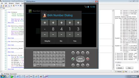 tutorial android dialog android number dialog tutorial using basic4android free