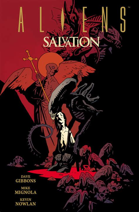 Dead In L A A Gathering Dead Novel dave gibbons mike mignola aliens salvation review
