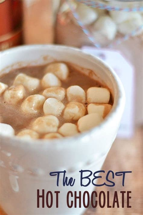 best hot chocolate recipe the best homemade hot chocolate mix kitchen meets girl
