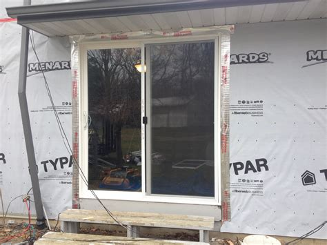 Patio Door Install Jeld Wen Sliding Patio Door Installation Edgerton Ohio Jeremykrill