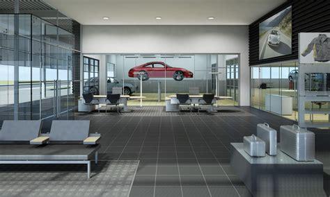 porsche service center projekte innenarchitektur porsche ci servicecenter