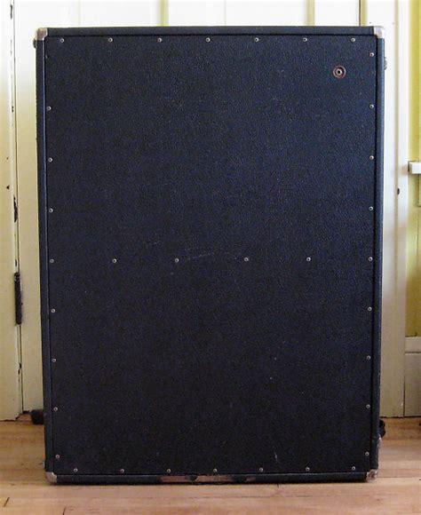 vintage fender 2x12 cabinet vintage 1968 fender bandmaster oversized 2x12 quot cabinet