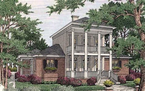 antebellum style house plans plantation style house plans 2458 square foot home 2