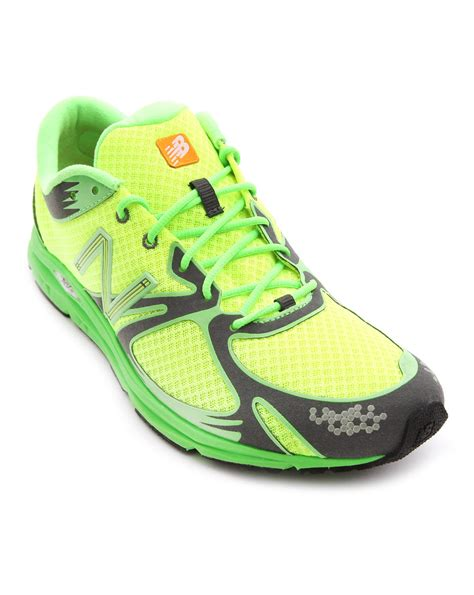 neon shoes new balance neon sneakers in yellow for lyst