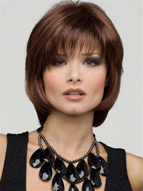 bobs with bangs and layers layered angled bob with bangs short hairstyle 2013