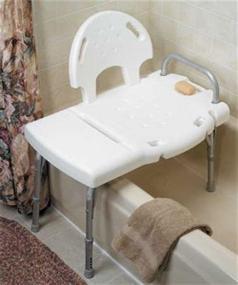 how to use a shower transfer bench amazon com invacare bathtub transfer bench health