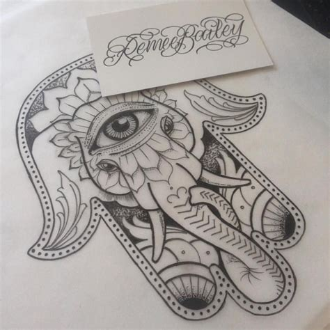 tattoo fixers hamsa hand elephant pin by autumn lumley on tattoo ideas pinterest hamsa
