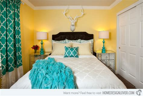 Turquoise And Gray Bedroom Decor by 15 Gorgeous Grey Turquoise And Yellow Bedroom Designs