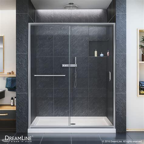 Dreamline Infinity Shower Door Dreamline Shdr 0960720 01 Infinity Z 56 60 Quot Sliding Shower Door Chrome Ebay