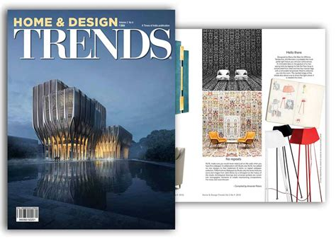 home trends magazine news press marco de masi designer