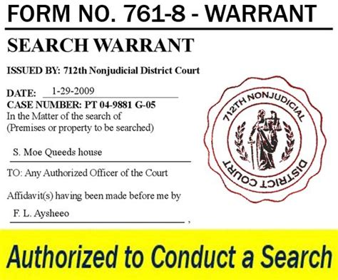 Definition Of Search Warrant Warrant Definition And Meaning Market Business News