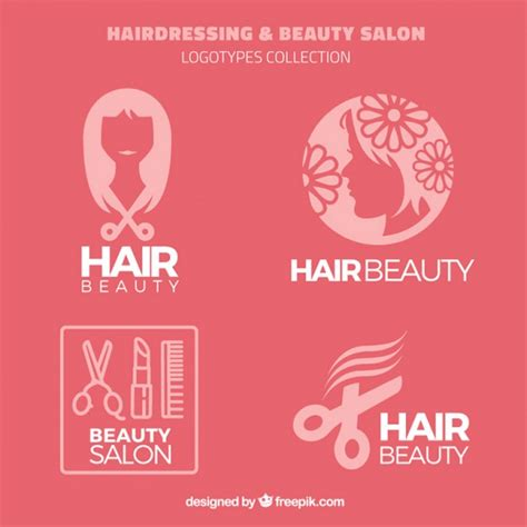 Hair Salon Download Uptodown | hairdressing and beauty salon logos vector free download