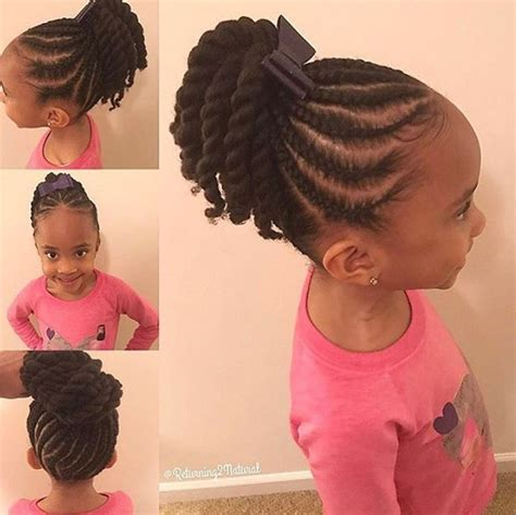 Kid Ponytail Hairstyles by Black Ponytail Hairstyles Photo