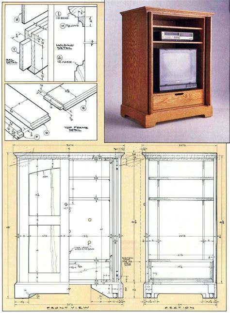 outdoor tv cabinet plans furniture tv cabinet plans woodarchivist