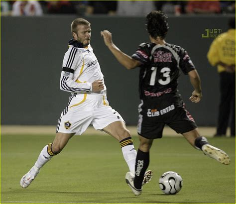 David Beckham Injures Knee In Soccer Match by David Beckham Gets Kicked In The Nuts Photo 553221