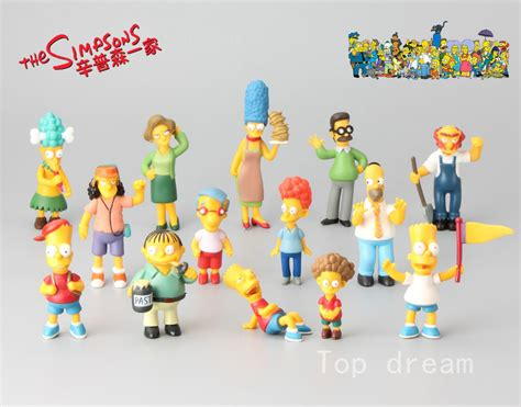 The Simpsons Family Figure 14x the simpsons family bart homer mini