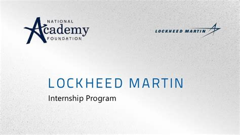 Lockheed Martin Corporation Mba Intern internships by the numbers
