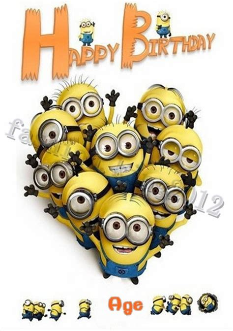 birthday card template minions 100 minion cards to wish a quot happy birthday quot holidays