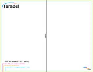 8 5 x 11 business card template taradel brochures templates