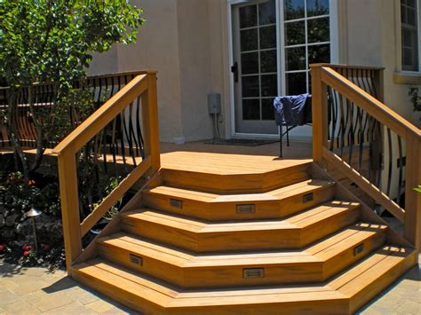 Building Deck Stairs by Deck Building Materials And Construction Basics Outdoor