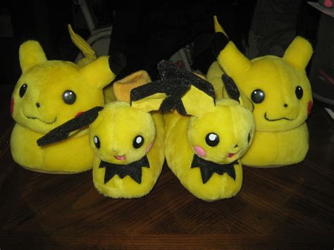 raichu slippers pikachus and pichus by marquis2007 on deviantart