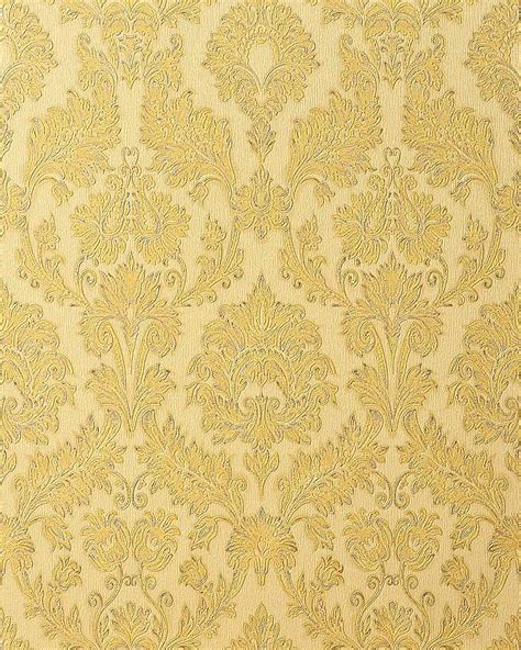 cream and gold wallpaper ebay edem 708 31 heavyweight embossed baroque damask wallpaper
