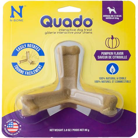 Jo In Pet Chews quado 174 interactive treat pumpkin flavor average joe