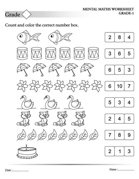 free coloring pages of count and color
