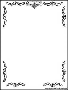 christmas ornaments borderjpg 500693 coloring 5 flower border coloring pages