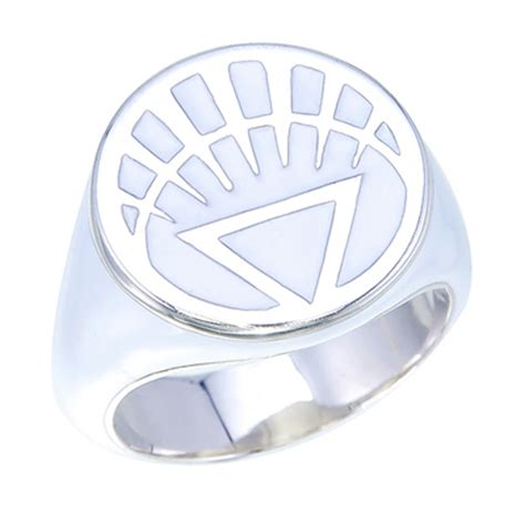 white lantern inspired silver ring white jewelry