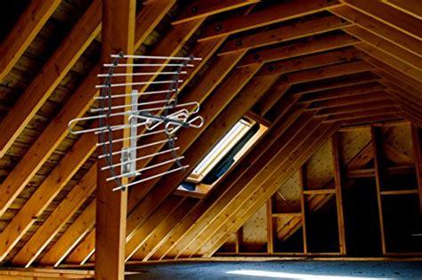 ge 33692 attic mount hd tv antenna 60 mile range indoor import it all