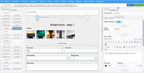 Uiform Wordpress Cost Estimation Payment Form Builder Wordpress Wp Cost Estimation Payment Forms Builder Templates