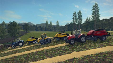 For Ls by Pack 4 Bigbalers 1 Axle For Ls 17 Farming Simulator 2017