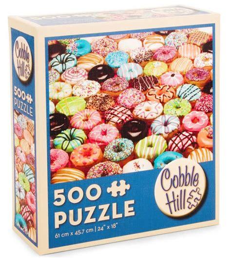 Best Terlaris Puzzle Jigsaw From Tomorrow 100 Pcs Sni doughnuts 500 puzzle 625012571210 item barnes noble 174