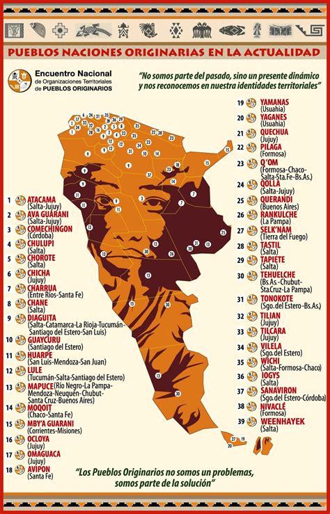 mapa america pueblos originarios enotpo mapa pueblos naciones originarias