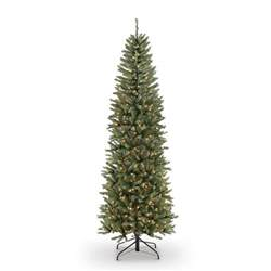 fraser fir pre lit tree martha stewart living 7 5 ft pre lit led pine